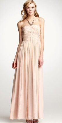 I'd wear this in another color and not for a wedding.