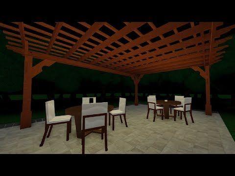 17 Roblox Studio Speedbuild Pergola Youtube Roblox Studio