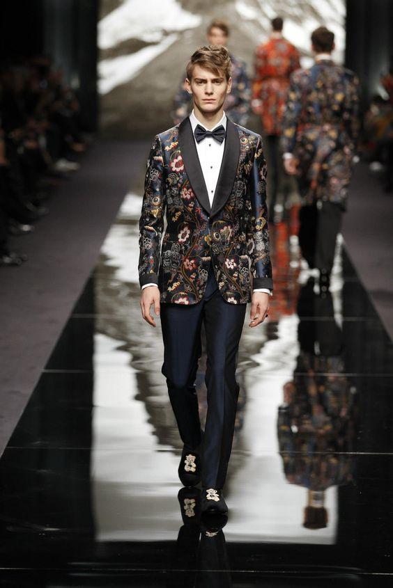 Look from the Louis Vuitton Men's Fall/Winter 2013-2014 Fashion Show.  © Ludwig Bonnet / Louis Vuitton