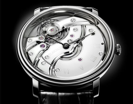 Blancpain Villeret Inverted Movement with ceramics