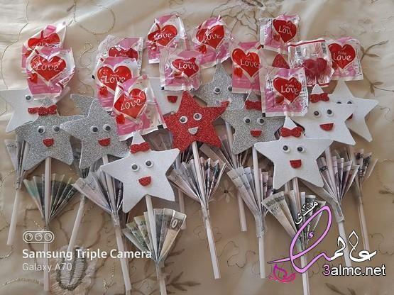 أفكار عيديات أفكار جميلة وسهلة للعيد طريقة عمل توزيعات العيد أفكار للعيد للاطفال 3almik Com 04 20 159 Galaxy