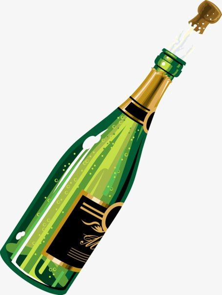 42++ Champagne bottle popping clipart information