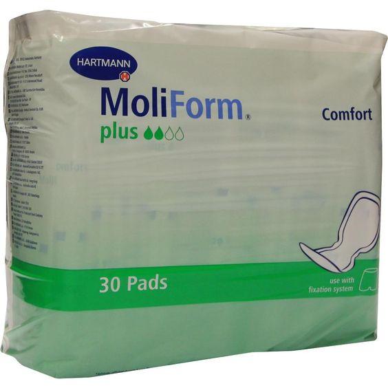 MOLIFORM Comfort plus:   Packungsinhalt: 30 St PZN: 06551451 Hersteller: PAUL HARTMANN AG Preis: 12,32 EUR inkl. 19 % MwSt. zzgl.…