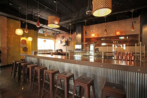 Corrugated Metal Bar And Metals On Pinterest