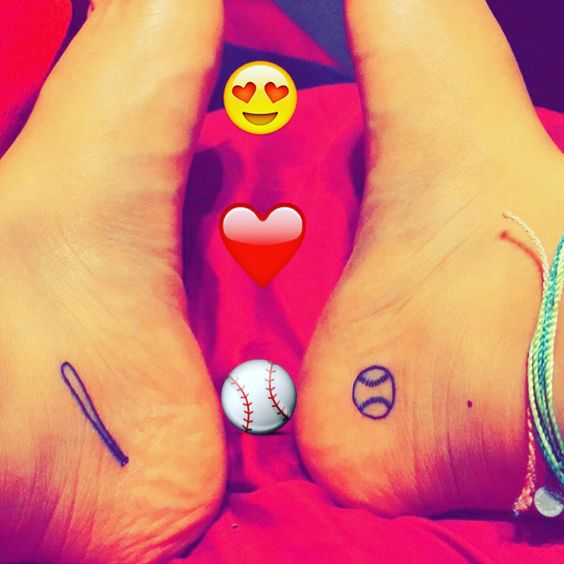 Softball is life. I would never get this tattoo, but I do love the game.