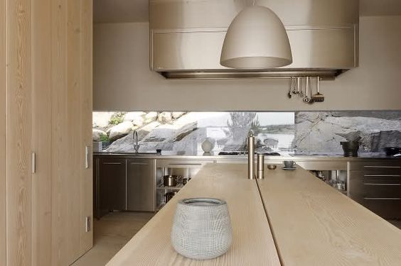 gorgeous warm shades in a contemporary kitchen by bulthaup