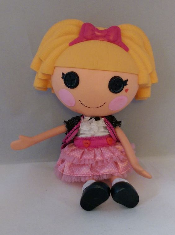 "2009 MGA Entertainment 12"" LalaLoopsy Misty Mysterious Doll"