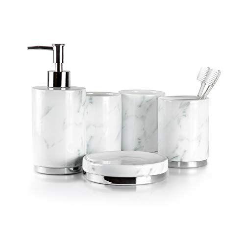 Willow Ivory Bathroom Accessories Set