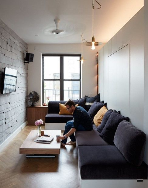 Bold Decor In Small Spaces 3 Homes Under 50 Square Meters Living Room Design Small Spaces Simple Living Room Small Apartment Decorating Living Room