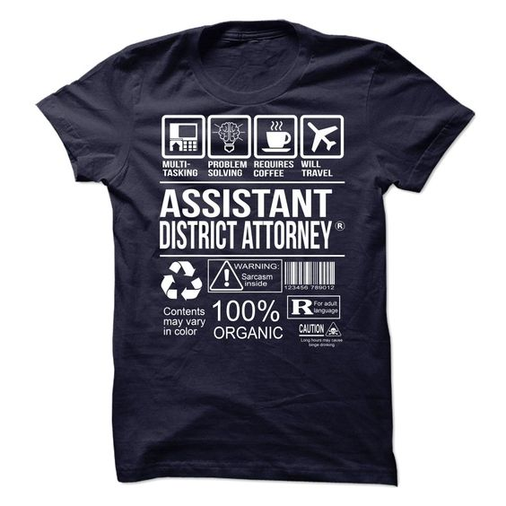 Awesome Shirt For Assistant District Attorney T-Shirts, Hoodies. Get It Now…