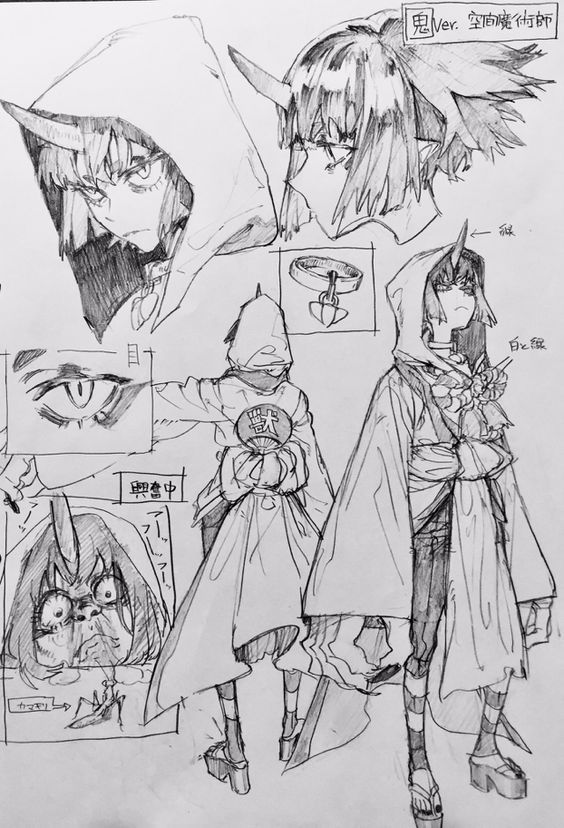 Drawing Character Design Inspiration Anime Character Design Character Design