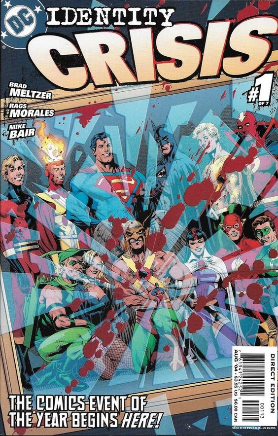 Identity Crisis 5 Vf Dec 2004 Dc Comics Michael Turner Robin For Sale Online