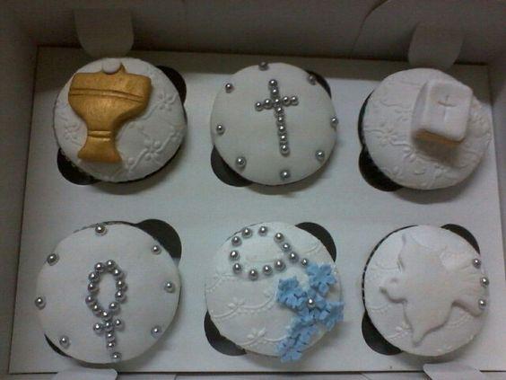 Cupcakes de primera comunion