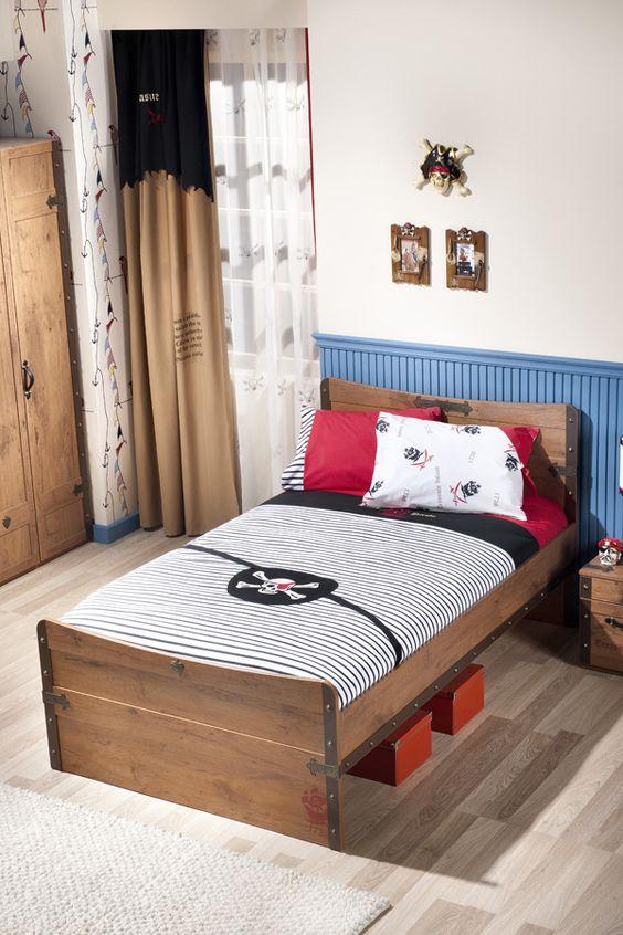 Kinder-Doppelbett Tobias Weiß mit 8 verschiedenen Dekorfarben und - schlafzimmer set weiß