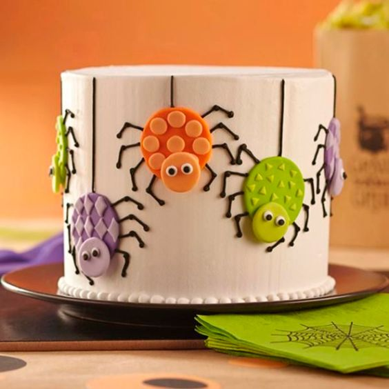 Halloween Cake Decorating Ideas Pinterest : Halloween cake decorations, Scary halloween cakes and ...