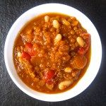 Brown Lentil & Tomato Soup