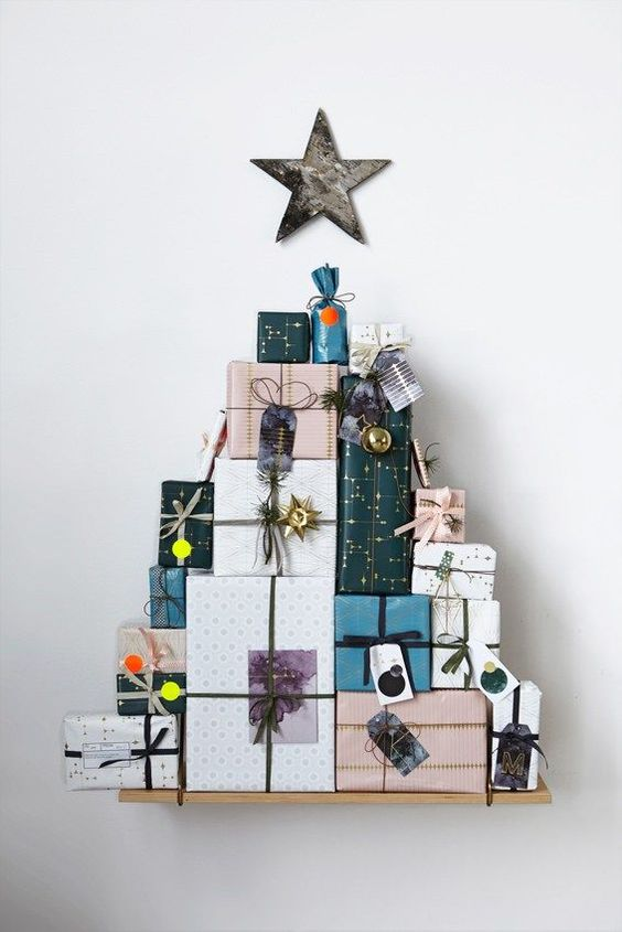 These Alternatives To The Tree Will Give You Ideas For Your Christmas Decor images 8