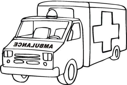 Ambulance Coloring Pages To Print Coloring Pages Cars Coloring Pages Monster Truck Coloring Pages