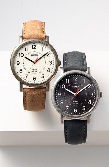 Pulseira de couro Timex