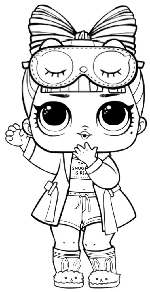 Lol Surprise Doll Coloring Pages Hops In 2020