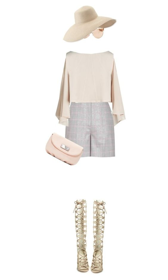 """""""City Chic"""" by lorantin ❤ liked on Polyvore featuring Reiss, River Island, Kendall + Kylie, Marc by Marc Jacobs, Eric Javits and Linda Farrow"""
