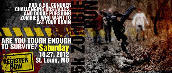Zombie Run | Zombie Survival | 5k Run | Warrior Dash