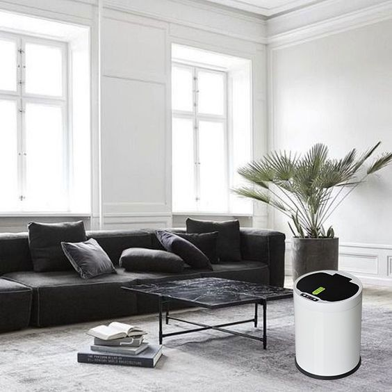 Automatic Garbage Can Living Room Minimalist Living Room Minimalist Living Room Decor Minimalist Living Room Design #trash #can #for #living #room