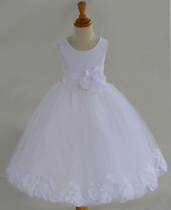 Toddler size 8 white dress shoes girl