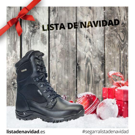 Calzado Militar de Lista de Navidad #calzadossegarra #listadenavidad #navidad #regalos #moda #tendencia #calzadosafari #calzadotendencia #militar #tactico #seguridad #policia #guardiacivil #vibram #outlast #simpatex