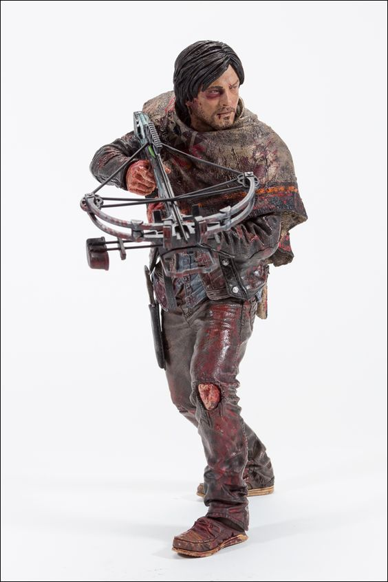 The Walking Dead figurine Daryl Dixon Survivor Edition McFarlane Toys