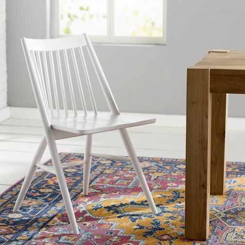 Mistana Massey Solid Wood Dining Chair Reviews Wayfair Dining Chairs Solid Wood Dining Chairs Black Dining Chairs