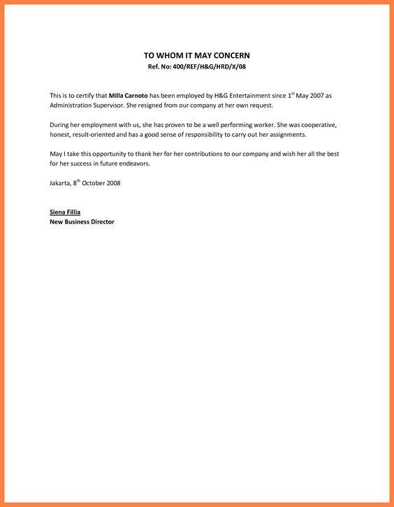 ... Simple Cover Letter Sample Saba Zer Naz Hafsa Pinterest   Cover Letter  For Internship ...
