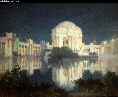 El Palacio De Bellas Artes En San Francisco - Colin Campbell Cooper Pintura Al óleo : LP02206 : $161.00
