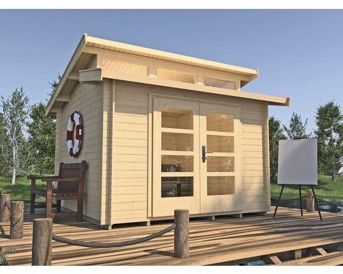 Gartenhaus Weka She Shed 158 Gr 1 Mit Fussboden 300 X 300 Cm Natur Bei Hornbach Kaufen Gartenhaus Haus Garten