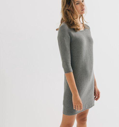 Kuscheliges Kleid fürs Büro