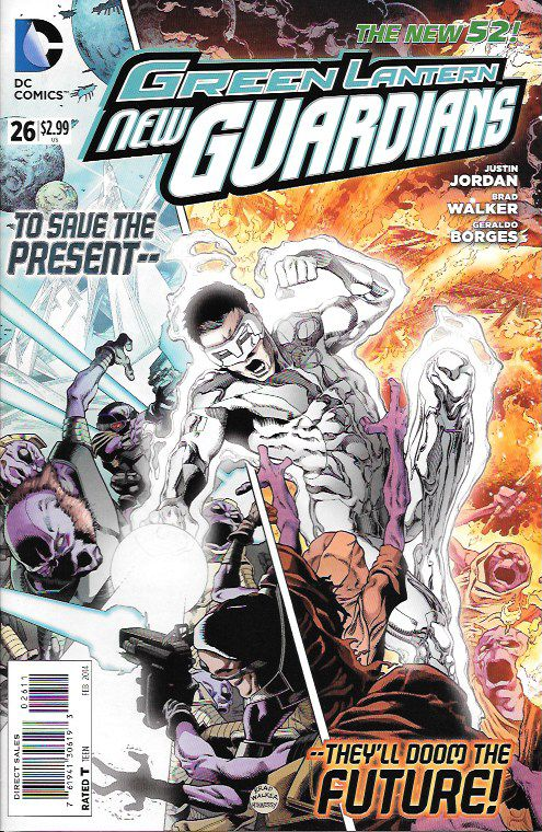 Green Lantern: New Guardians # 26 DC Comics The New 52!