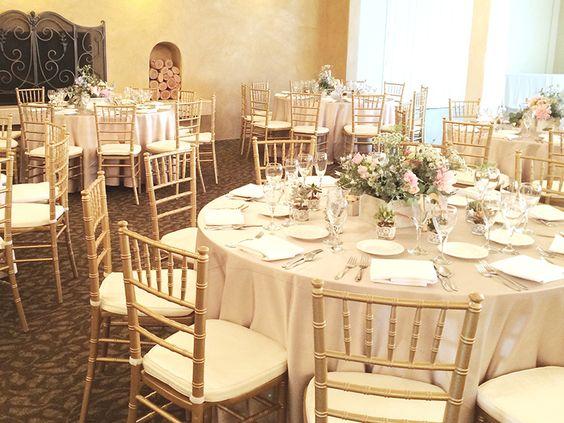 El Camino Country Club Wedding Oceanside Venue Weddingvenue Ceremony Reception Countryclubreceptions Elcamino Tablesetup Pinterest