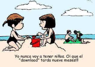 Download prolongado - Humor gráfico