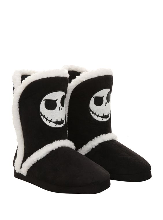 The Nightmare Before Christmas Jack Slipper Boots | Hot Topic