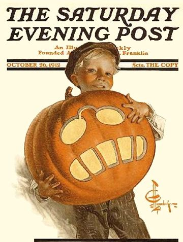 saturday evening post magazine halloween cover - Halloween Magazines