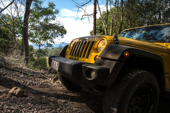 Brisbane Jeep Club Offroading at Scenic Rim