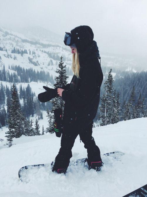 Je voudrais apprendre à faire du snowboard un jour