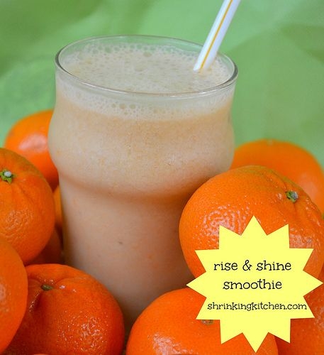 Rise and Shine Smoothie (Orange Julius knock-off)