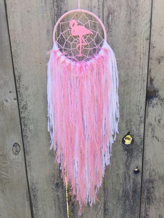 Pink Flamingo Dreamcatcher Pink Flamingos Dream Catcher Flamingo