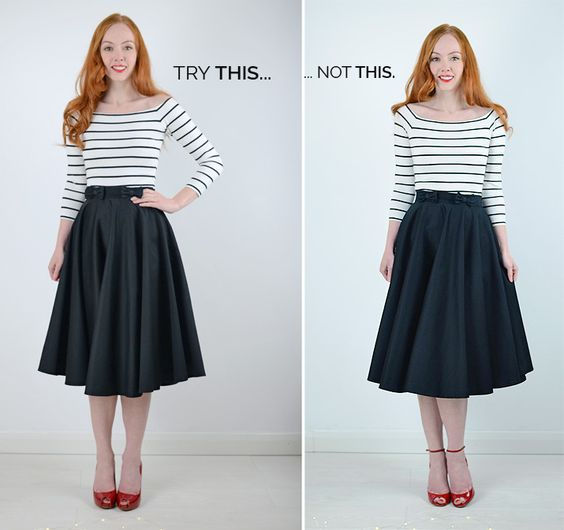 what shoes to wear with a midi skirt