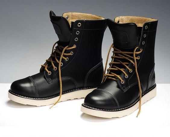 2012 NEW Z.suo mens boots fashion rainboots genuine leather rivet ...