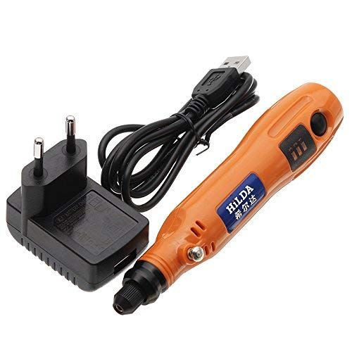 Orange 3 6v Mini Electric Cordless Battery Drill Variable Speed Grinding Rotary Tool Review Battery Drill Rotary Tool Rotary