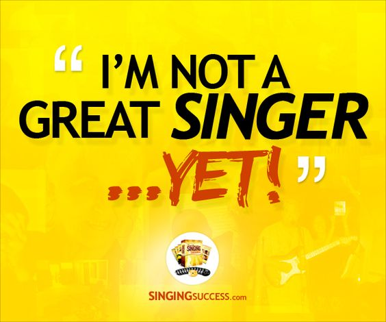Image result for motivational quote about singing