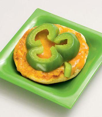 Green pepper shamrock!