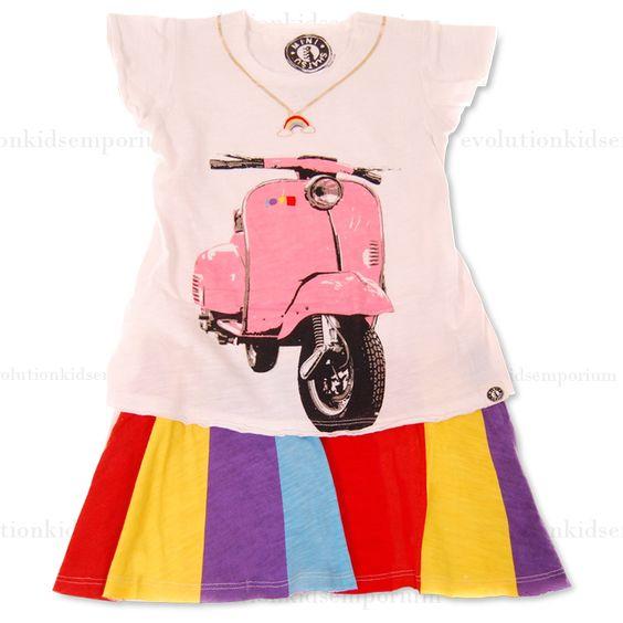Rainbow kids clothing store